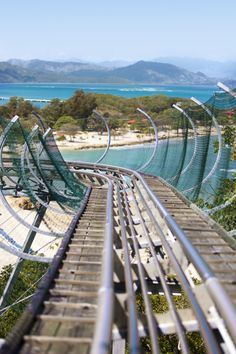 Enjoy the view before the thrilling ride down Dragon's Tail coaster. #labadee
