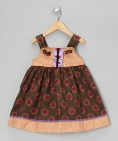Ginger Snap Knot Tie Tunic - Infant, Toddler & Girls