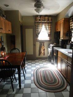 Primlish rug, coloni kitchen, little kitchen