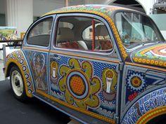 Beaded VW beetle | Flickr - Photo Sharing!