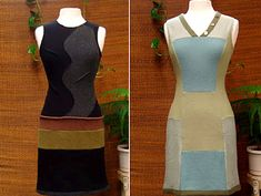diy idea for refashioned sweaters