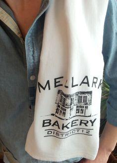 Mellark Bakery Flour Sack Tea Towel by StudioVim on Etsy. need!!!!!!!!!!