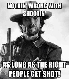 The gallery for --> Clint Eastwood Cowboy Meme