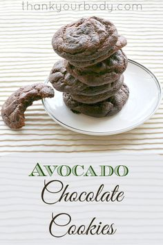 Recipe: Avocado Chocolate Cookies