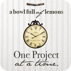 Blog ~ a bowl full of lemons