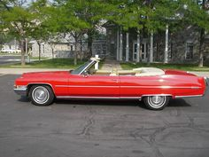 1972 Cadillac Coupe DeVille Convertible