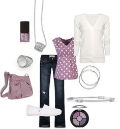 Cute casual outfit with lia sophia