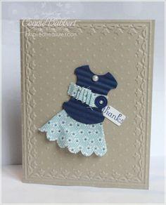 card idea, fabric scrap, the dress, dress idea