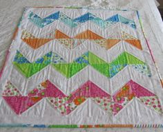Baby Crib Quilt Hand Quilted car seat by raspberrybutterflies, $95.00