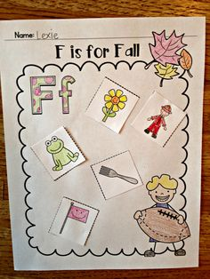 This pack is filled with a variety of math and literacy activities all with a fall theme. These black and white printables are quick and easy. Ready to print and go!