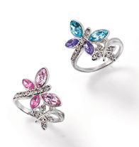 $7.99 Dancing Butterfly Ring