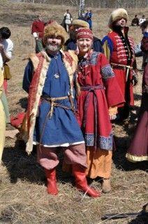 Славянский костюм 11 века Slavic outfits/dress