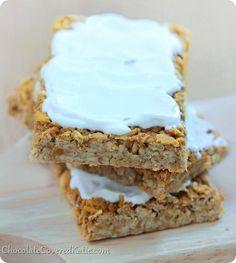 Apple Oatmeal Breakfast Bars: