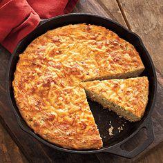 Sour Cream Cornbread - Savory Cornbread Recipes - Southern Living