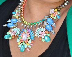 The Prisma necklace from www.ishopcandy.com