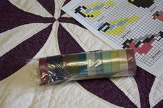 """Becoming Gezellig: Cross-Stitch with Washi Tape"" == Animals: birds, other == counted squares =="