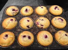 Wild Blackberry Muffins - by West End Bakery, Chef Cathy Cleary