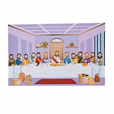 Last Supper Sticker Scenes (10.00 for 12)