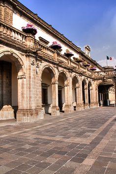 Alcázar del Castillo de Chapultepec. Ciudad de México.