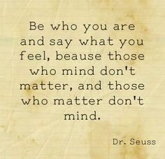 Dr. Seuss<3