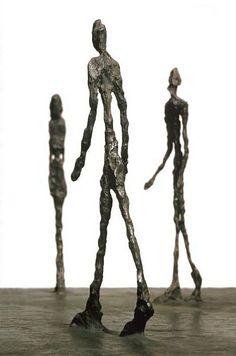 Giacometti Wire and Plaster Sculpture lesson