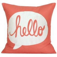 Fun throw pillow via etsy