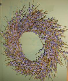 Lavendar Wreath www.couturehomeaz.com
