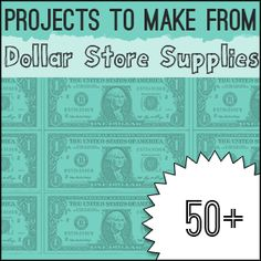Over 60 DIY..Dollar Store Home Decor #Crafts To Make