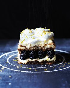 No-Bake Blackberry Tiramisu | Sweet Paul Magazine