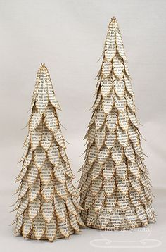 Crafty Christmas trees - by Barbara Anders