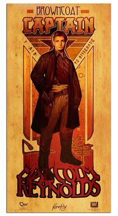 Firefly Les Hommes Poster Set - by Megan Lara
