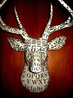 Font love deer head