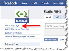 How to add a custom landing tab to your facebook fan page!