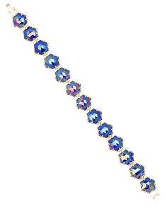 Grace Link Bracelet in Iridescent Cobalt - Kendra Scott Jewelry. Coming October 15!