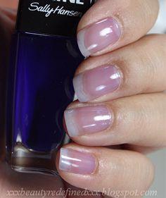 Sally Hansen Triple Shine Jelly Polish Swatches Grape Jelly