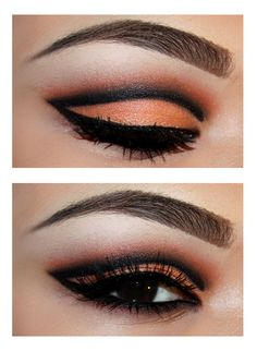 Tangerine Cut Crease