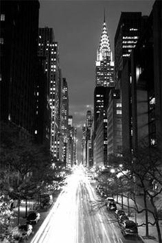 big apple, dream, city lights, travel, new york city, place, chrysler building, empire state, york citi