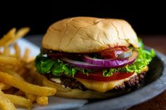 Recipe: Hamburgers (Diner Style) by Sam Sifton || Photo: Andrew Scrivani for The New York Times