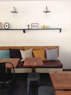 Bancas de madera on pinterest mesas contemporary - Muebles de cedro ...