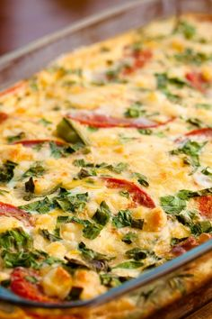 Chili Rellenos #Casserole recipe with peppers, monterey jack and cheddar cheese