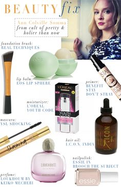 beauty fix .. product review via @glitterguide