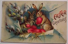 Vintage Easter Postcard | Flickr - Photo Sharing!