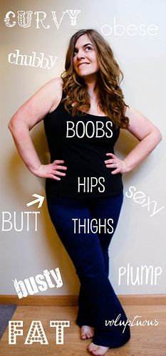 """""""So, what's wrong with a plus size body? Not a fucking thing."""""""