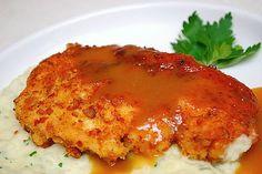 Pretzel Chicken with Honey Mustard Sauce