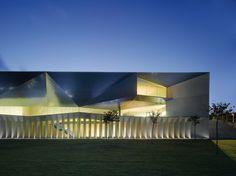 Municipal Auditorium of Teulada, Alicante, Spain by Francisco Mangado y Asociados