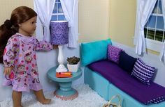 American Girl Doll Crafts and Fun!: Craft: Make a Doll Sized Lamp
