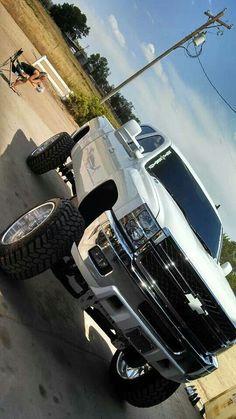 Sweet duramax#cummins #diesel #black #white #dodge#diesels #trucks #black #lifted #dodge #ford  #gmc #chevy #cummins #powerstroke  #duramax #diesel #truck #dieseltrucks #dieselsellerz #dieselpowergear #power #turbo  FOLLOW ME FOR MORE JACKED UP TRUCKS