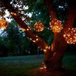 Grapevine lighting balls - what a bright idea!