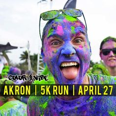 Akron Color Vibe 5k