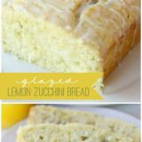 Lemon zuchini bread
